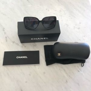 Chanel Sunglasses 5267 Black Grey Gradient